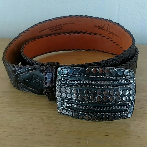 Martin Dingman Other - Martin Dingman Cayman Crocodile & Java Lizard Belt